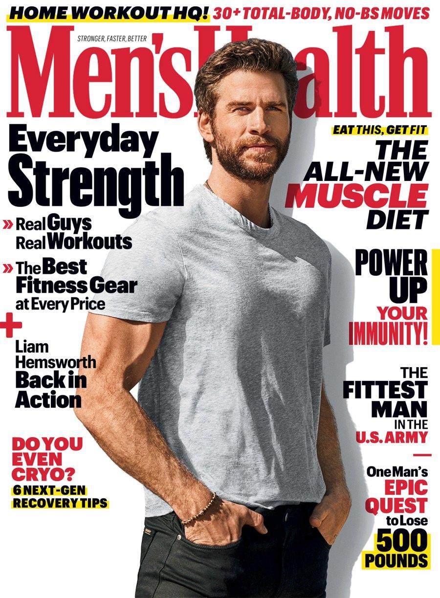 Liam Hemsworth Mens Health May 2020 Cover