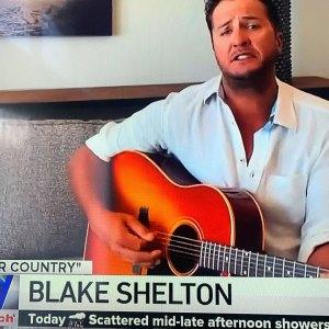 Luke Bryan Was Mistaken Blake Shelton Local News Station