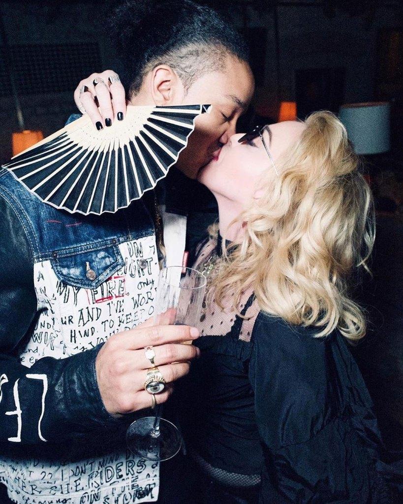 Madonna Shares Special Birthday Tribute for Boyfriend Ahlamalik Williams