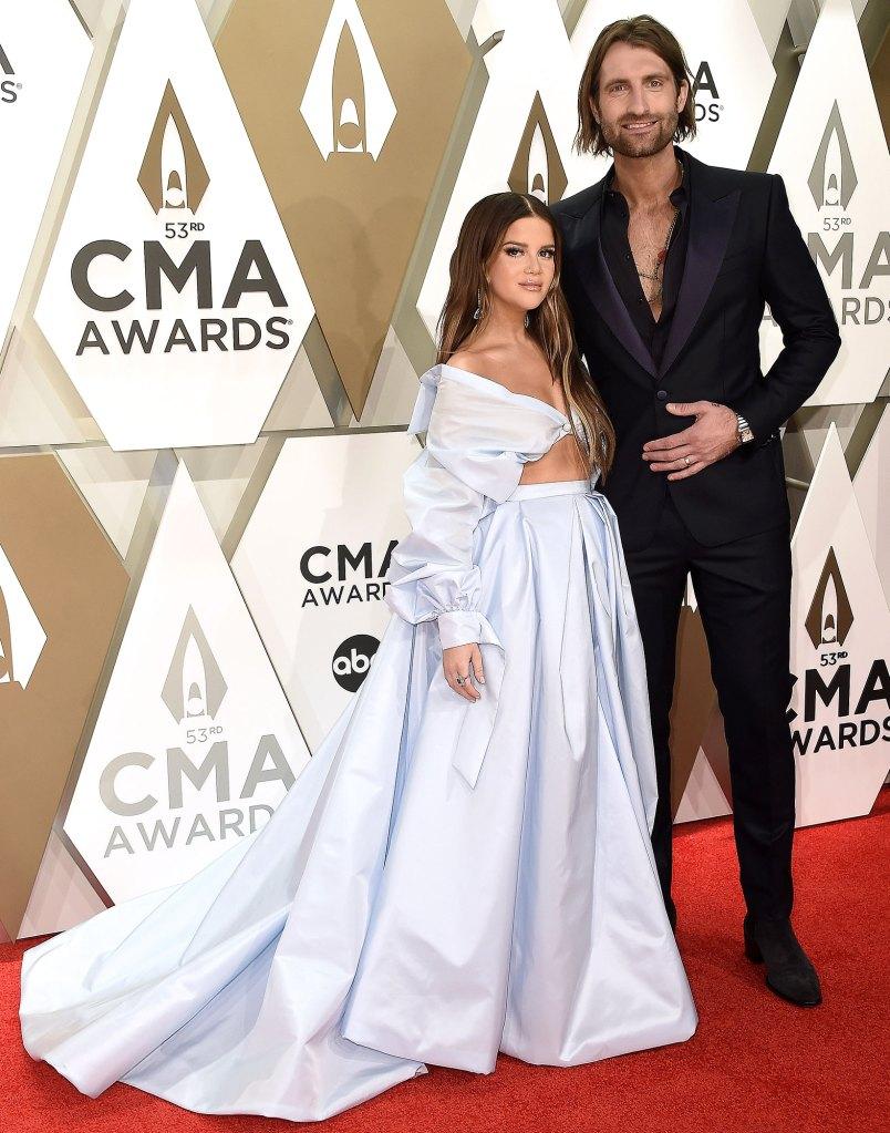 Maren Morris and Ryan Hurd Explain Meaning Behind Newborn Son Hayes Name 2019 CMA