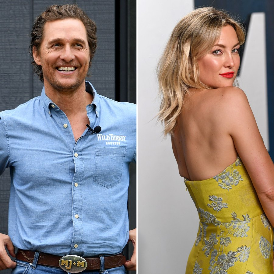 Matthew McConaughey Gushes Over Working With Kate Hudson How To Lose A Guy In 10 Days