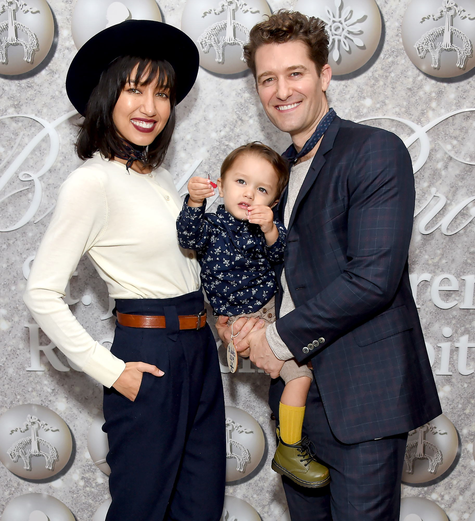 Matthew Morrison, Renee Morrison and Revel James Makai