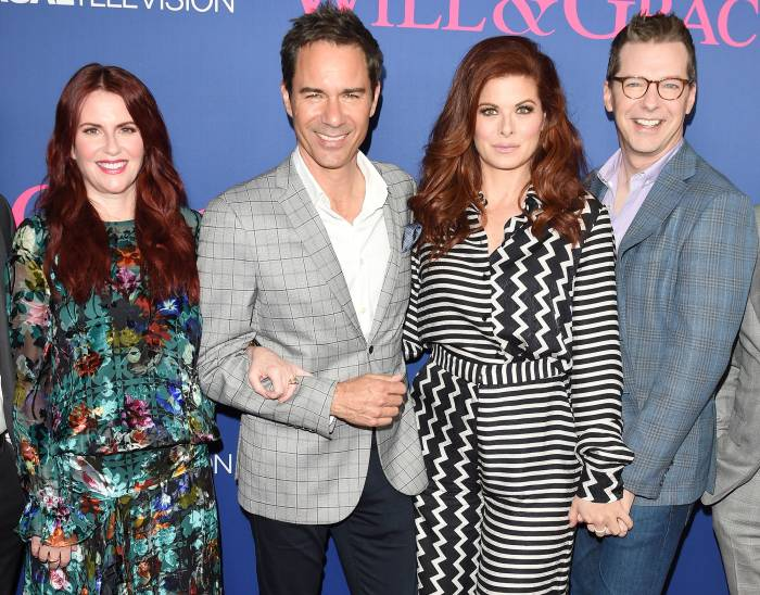 Megan Mullally, Eric McCormack, Debra Messing, Sean Hayes Will and Grace