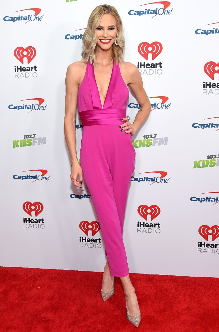 Meghan King Edmonds Talks Dating Herself After Briefly Online Dating Jingle Ball Pink Jump Suit