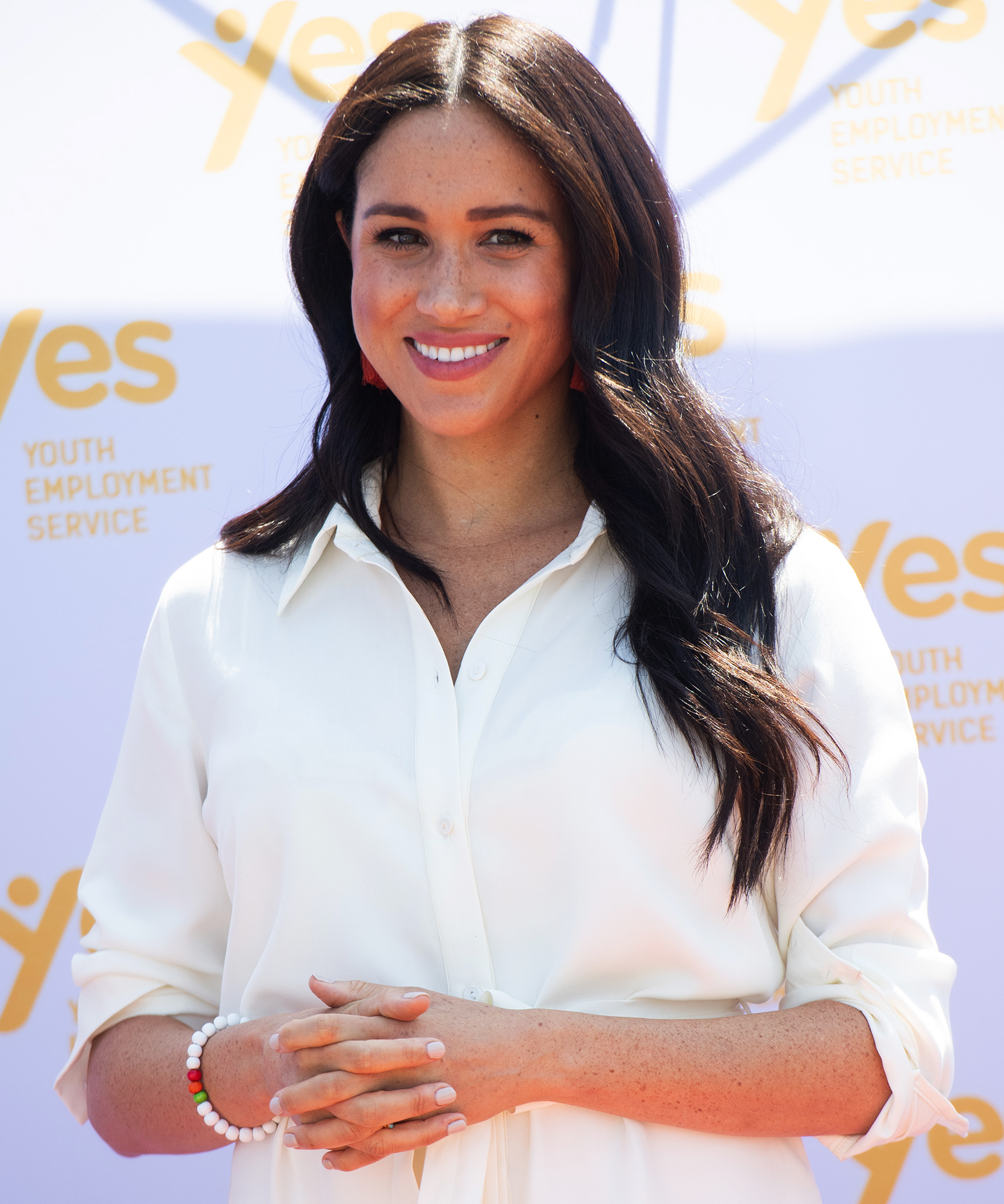 Meghan Markle Chats With SmartWorks Client Before Job Interview 2