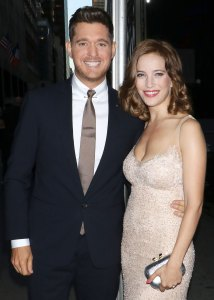Michael Buble's Rep Calls Response to Video of Him Elbowing Wife Luisana Lopilato 'Cyber Bullying'
