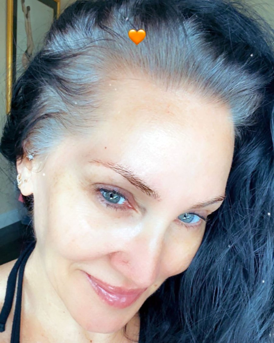Michelle Visage Can't Decide Whether or Not to Dye Her Roots: Pic