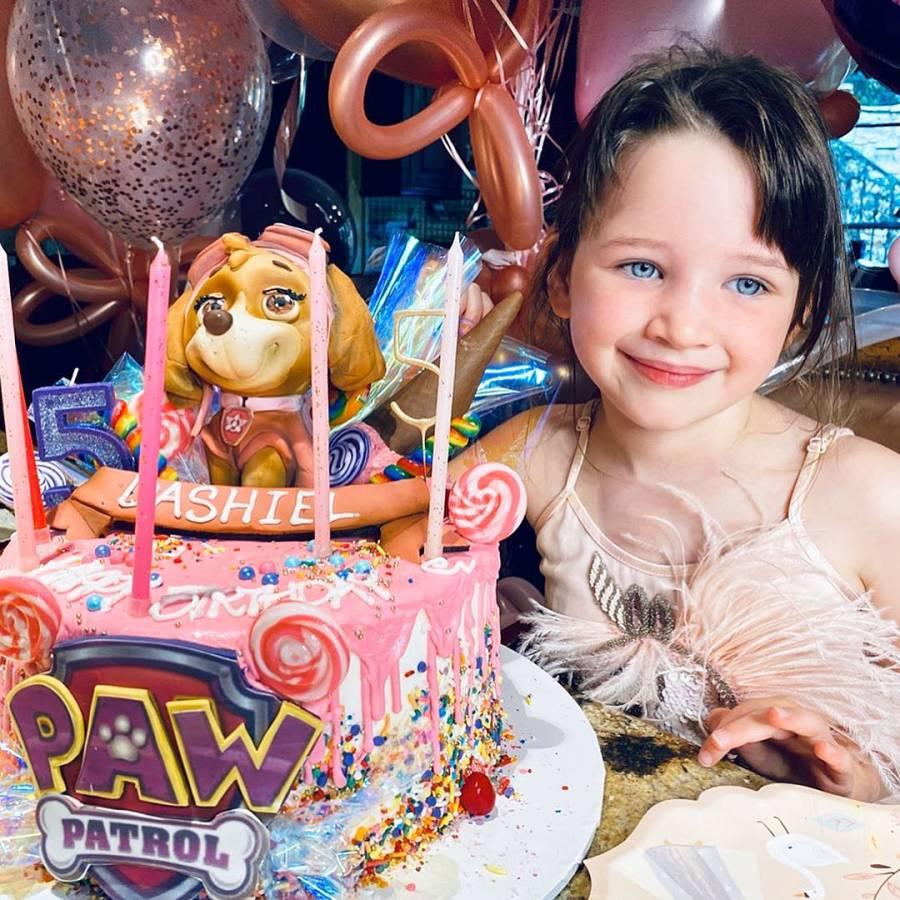 Milla Jovovich Celebrates Dashiels Birthday in Quarantine