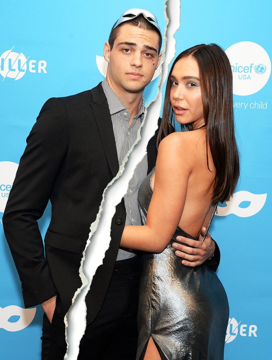Celebrity Splits of 2020 Noah Centineo and Alexis Ren