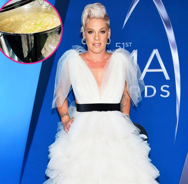 Pink makes soup for others after coronavirus recovery: 'My pleasure' - msnNOW