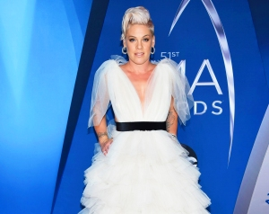 Pink Says She 'Cried' and 'Prayed' While Battling Coronavirus Symptoms