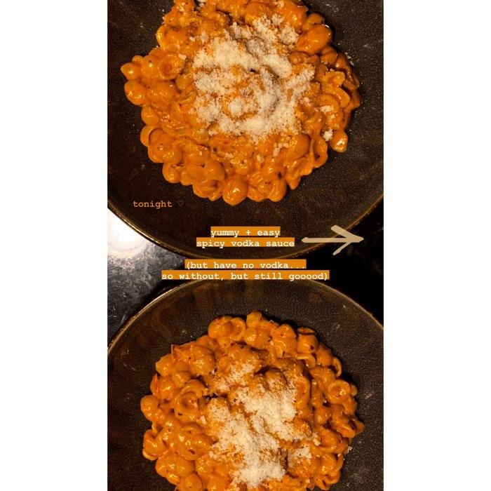 Pregnant Gigi Hadid Makes Pasta With Vodka Sauce: Watch