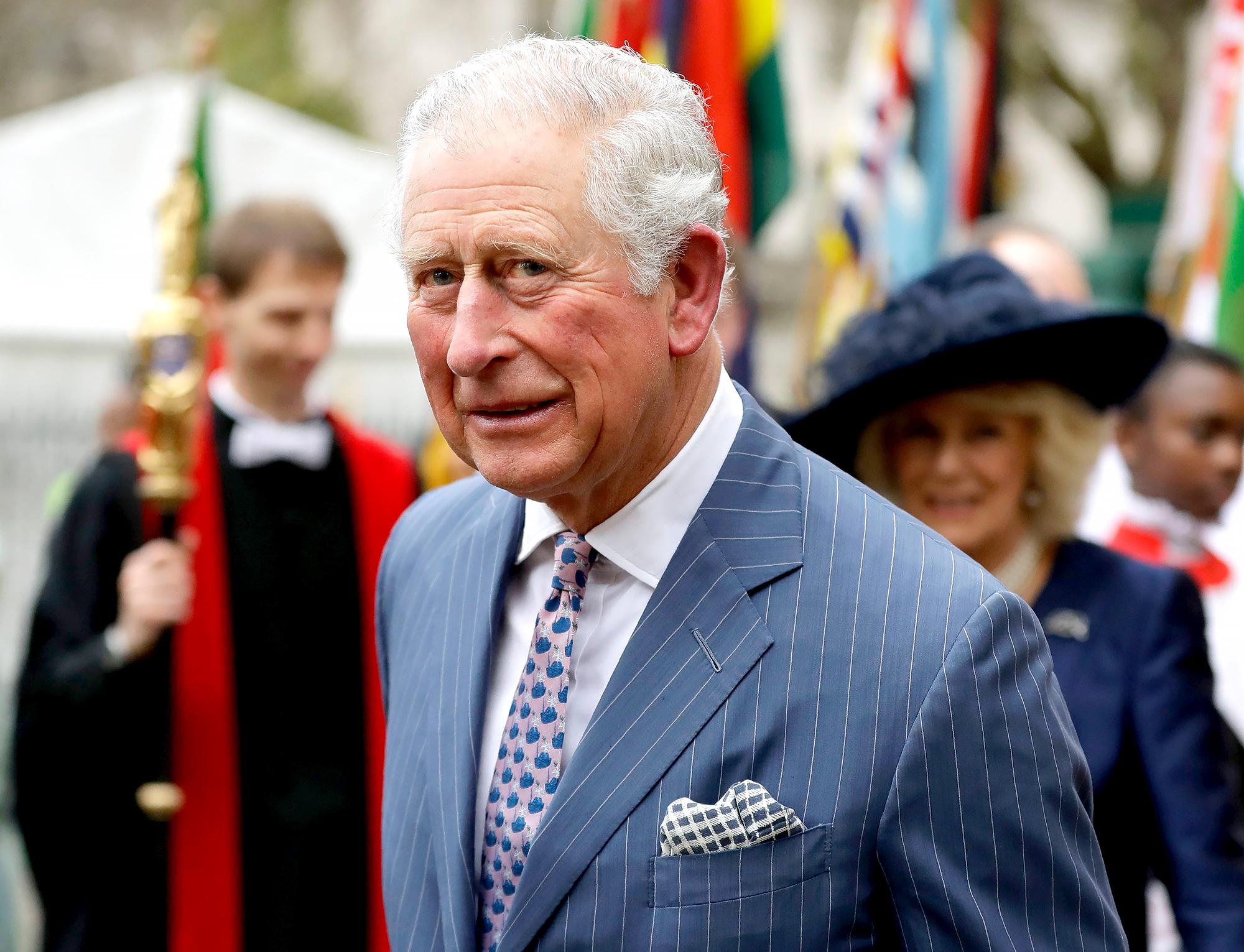 Prince Charles Opens Coronavirus Field Hospital After Diagnosis