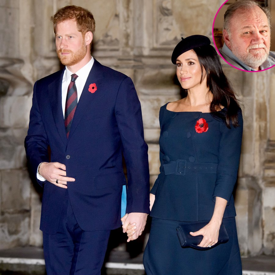 Prince Harry Meghan Markle Texts to Thomas Markle Released p
