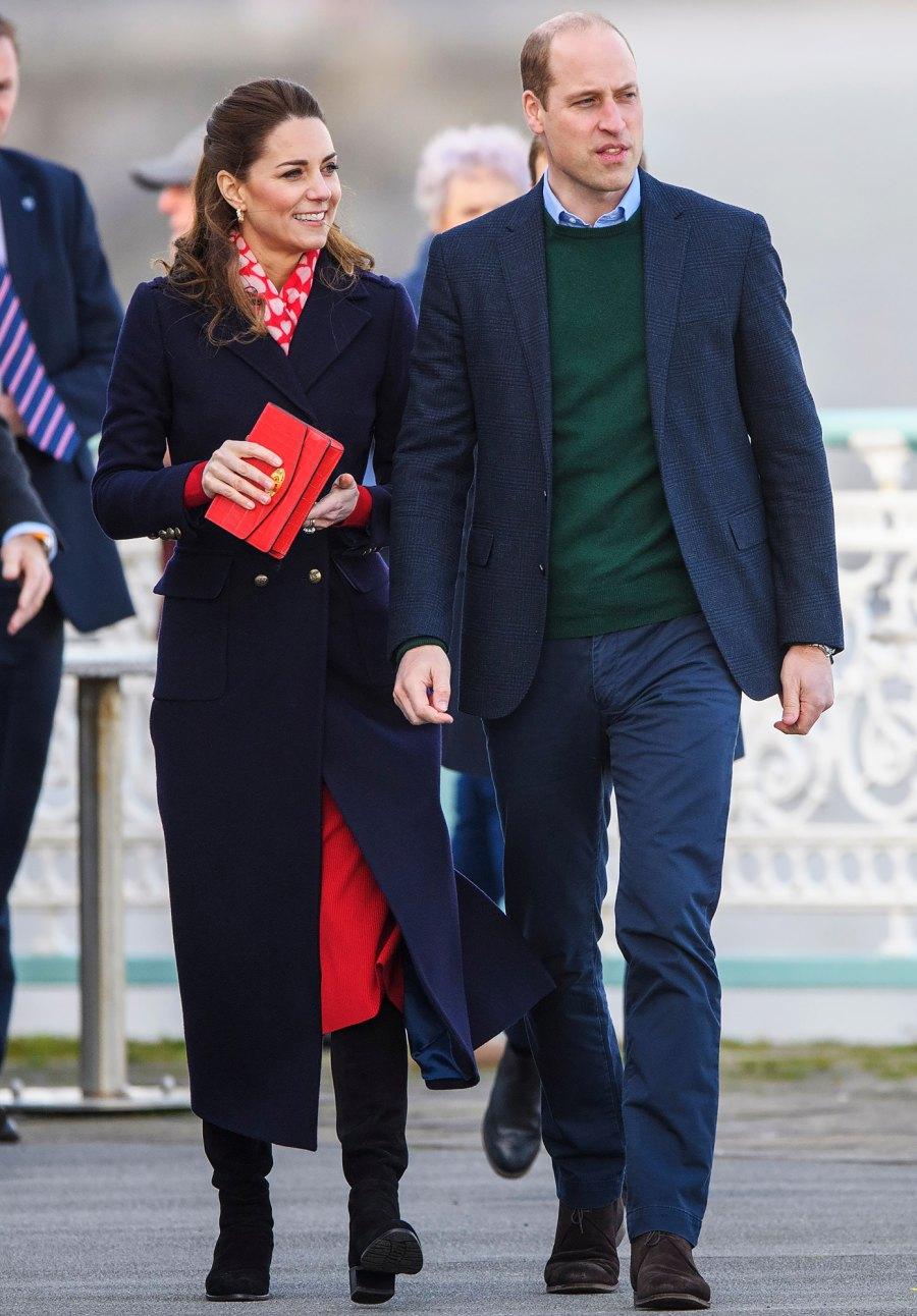 Prince William Duchess Kate February 2020