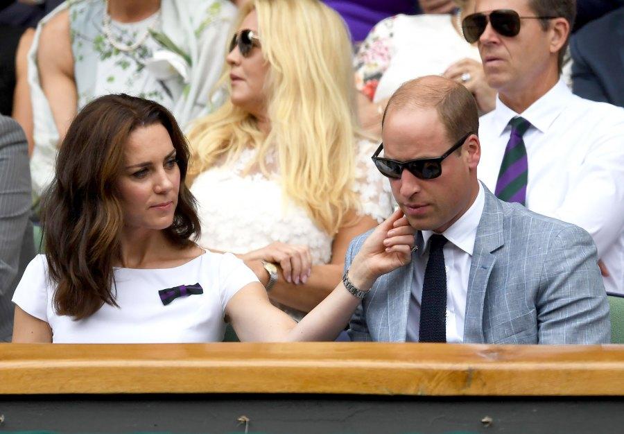 Prince William Duchess Kate Wimbledon 2017