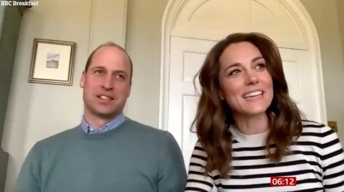 Prince William Duchess Kate homeschooling quarantine