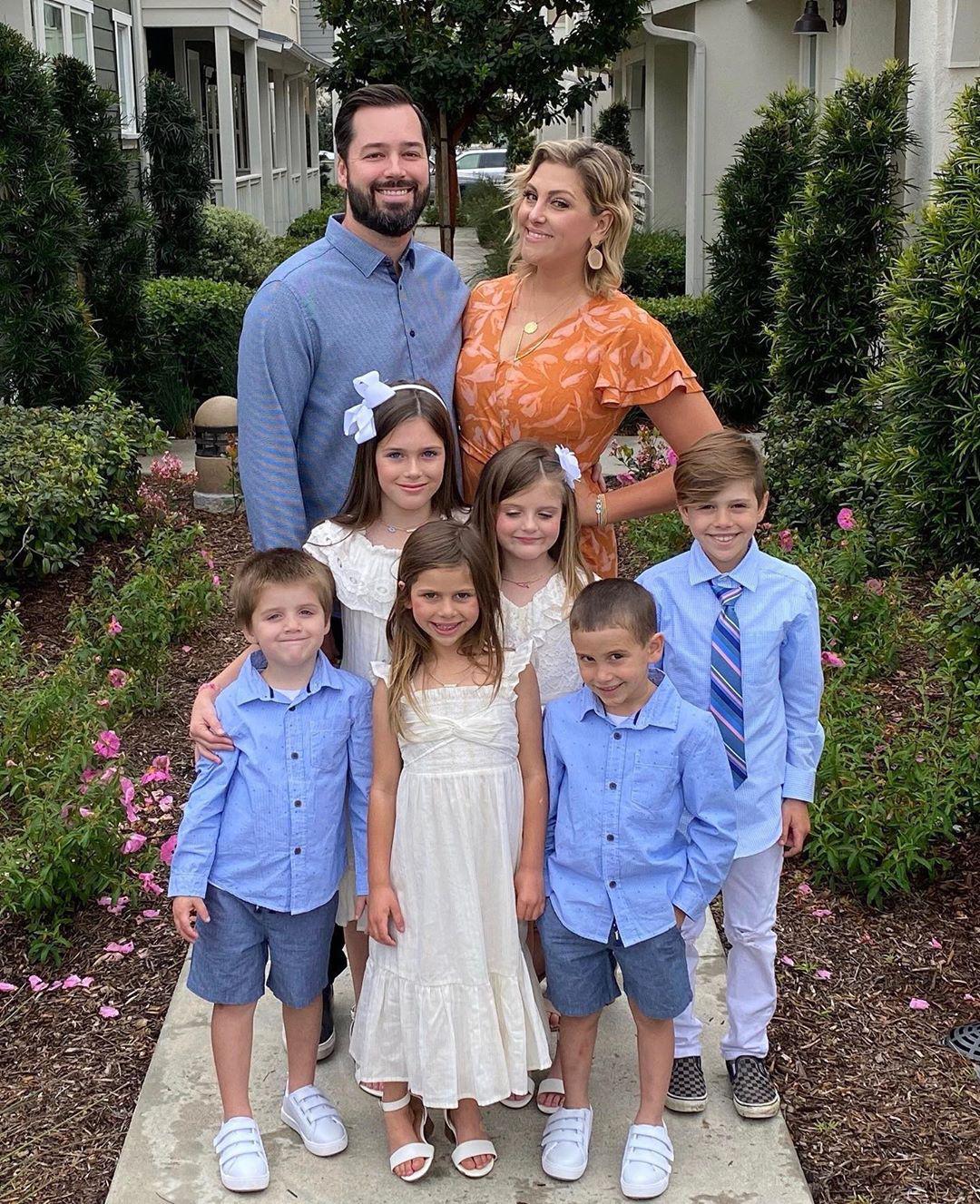RHOC Gina Kirschenheiter Quarantines With Boyfriend 6 Kids