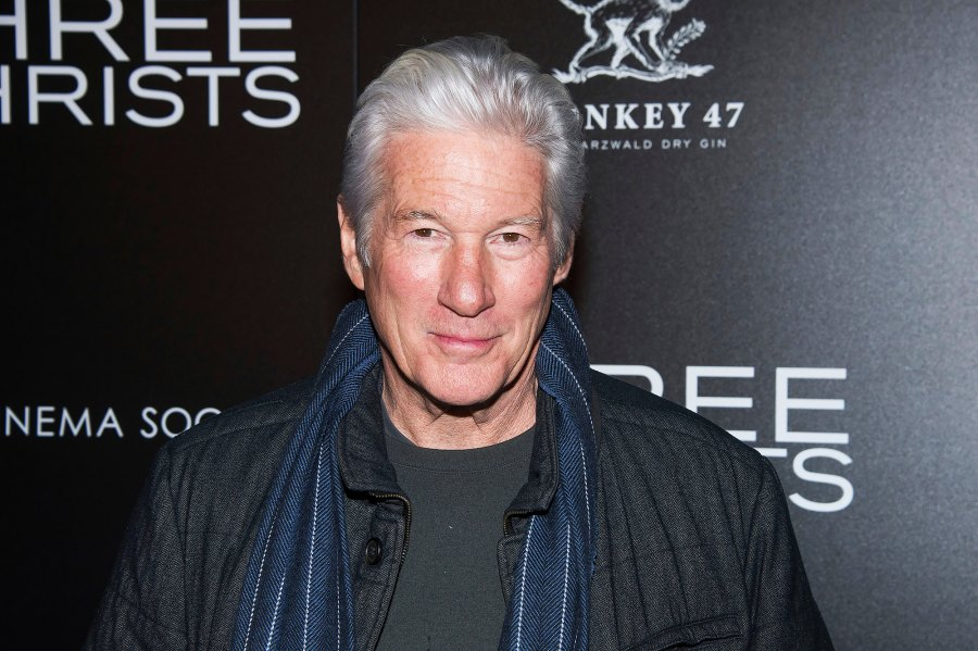 Richard Gere late in life father