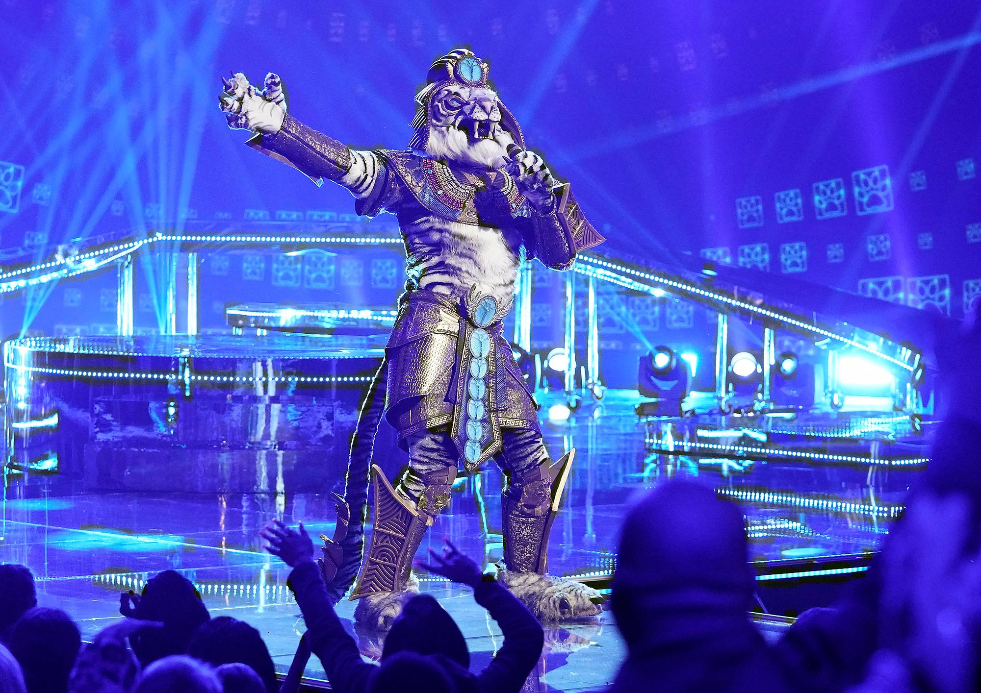 Rob Gronkowski The Masked Singer white tiger