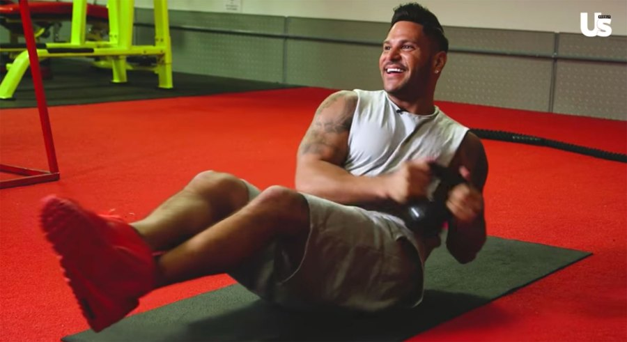 Ronnie Ortiz-Magro Shares His Easy Go-To Workout Routine