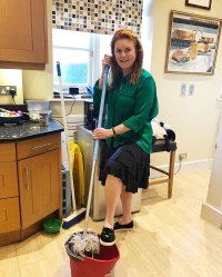 Sarah Ferguson Cleaning Her Home During Coronavirus Quarantine Is All of Us
