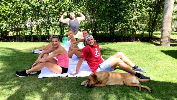 Sibling Workouts With 'Busch Family Brewed