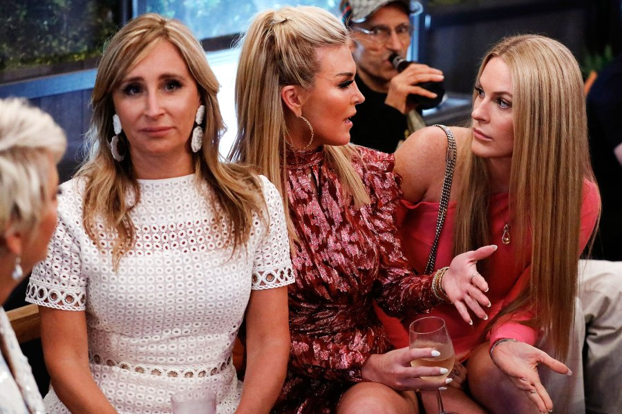 Sonja Morgan, Tinsley Mortimer, Leah McSweeney The Real Housewives of New York City