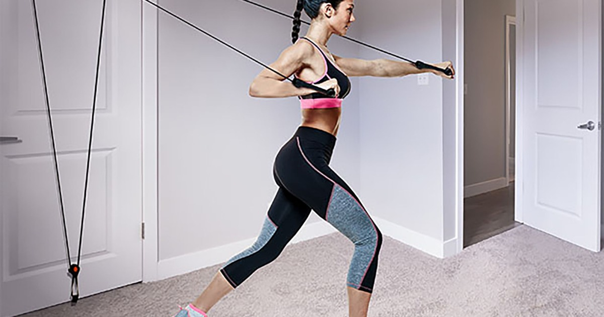 Can't Hit the Gym? You Can Still Stay Fit at Home With This $18 Deal