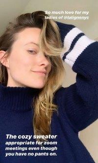 Stars At Home - Olivia Wilde