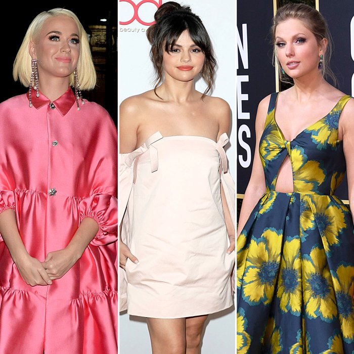 Stars Whove Made an Appearance Taylor Swift Music Videos Katy Perry Selena Gomez
