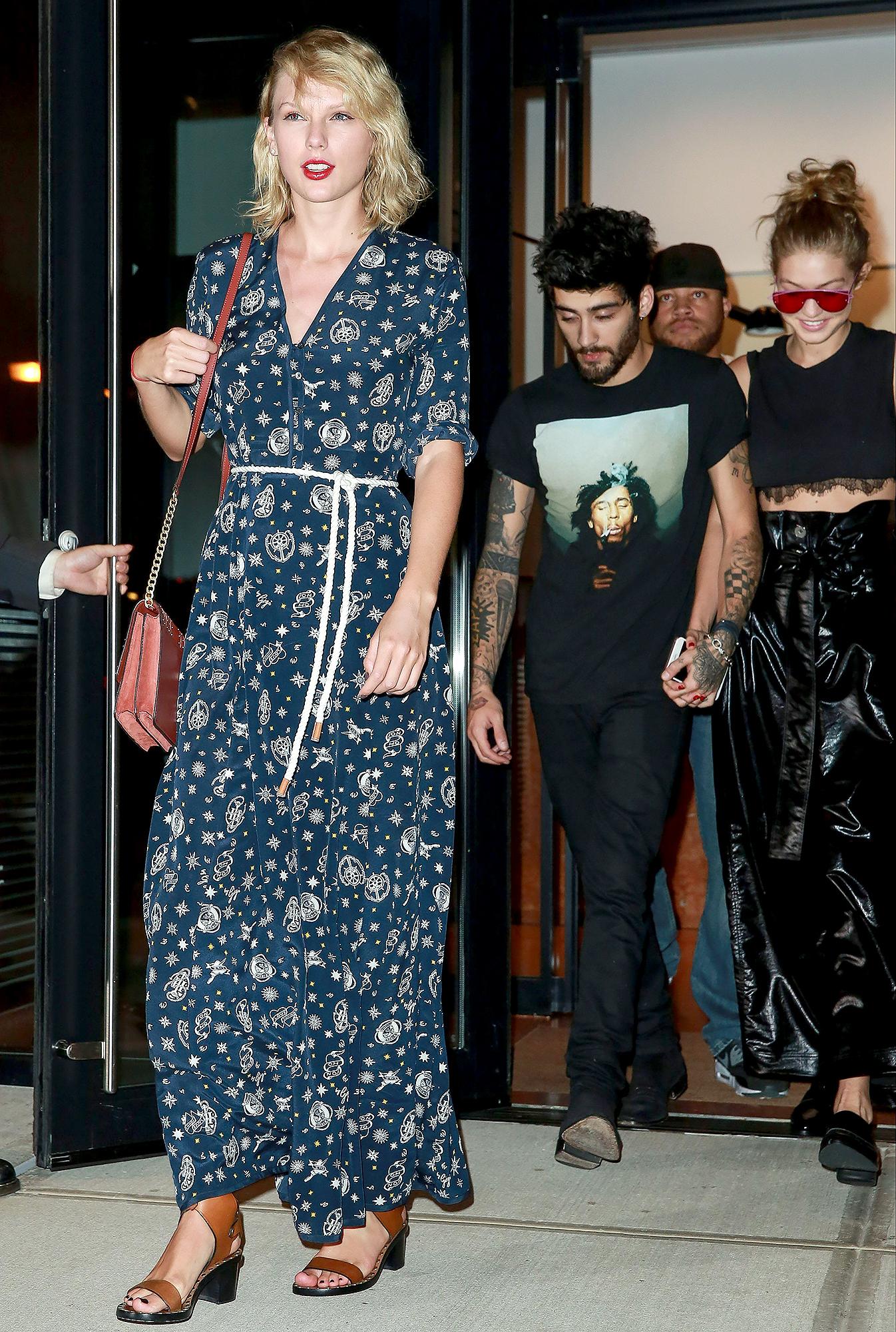 Taylor Swift Thinks Pregnant Gigi Hadid and Zayn Malik Are a Good Match 2