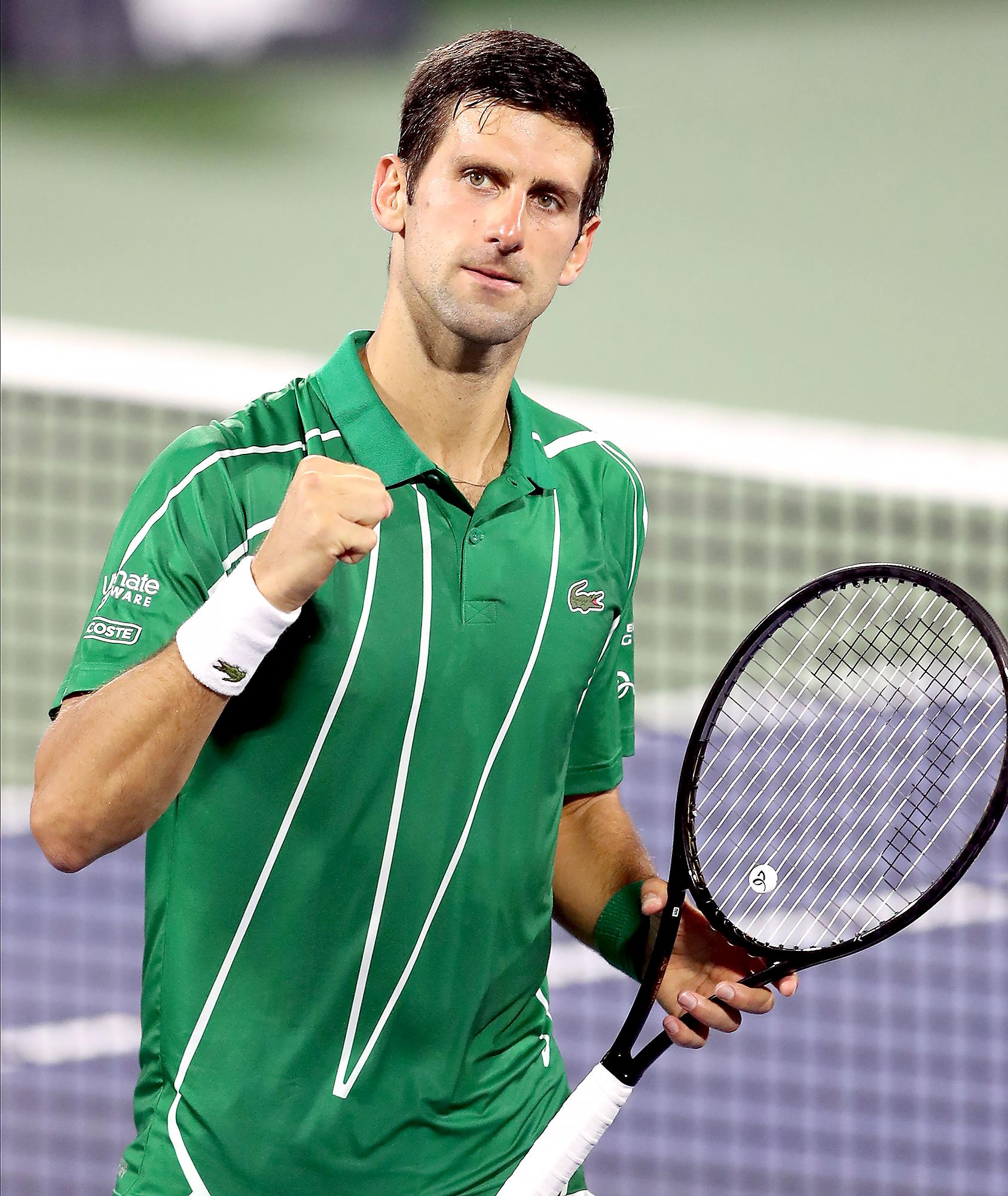 Tennis Star Novak Djokovic Is Opposed to Coronavirus Vaccine