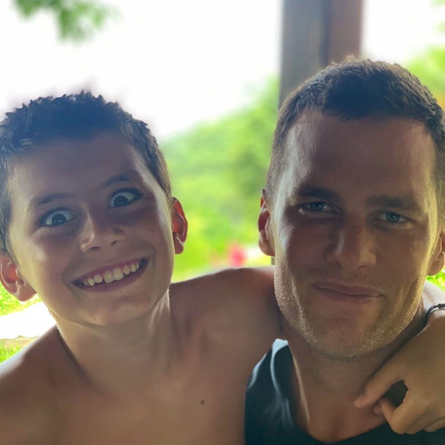 Tom Brady FaceTimes His Son Benjamin Amid Quarantine