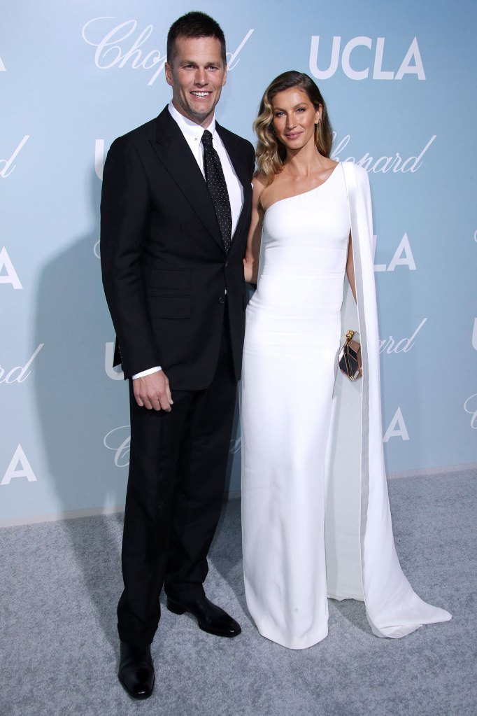 Tom Brady and Gisele Bundchen Hollywood for Science Gala Easter Family Photo