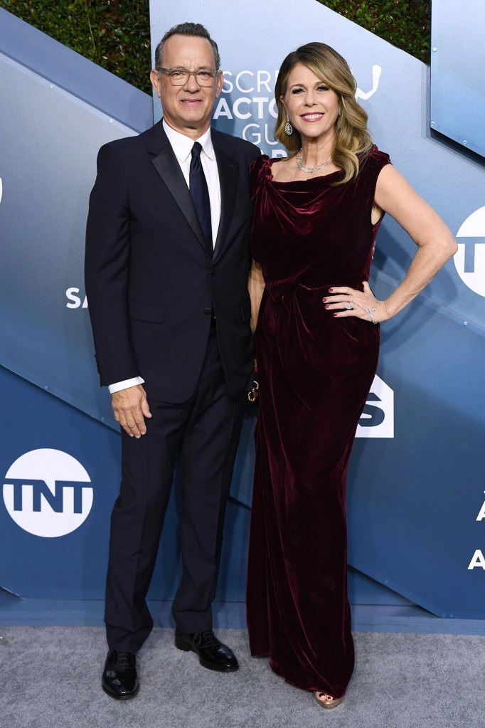 Tom Hanks and Rita Wilson 26th Annual Screen Actors Guild Awards Coronavirus