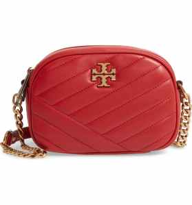 Tory Burch Kira Camera Bag (Red Apple)
