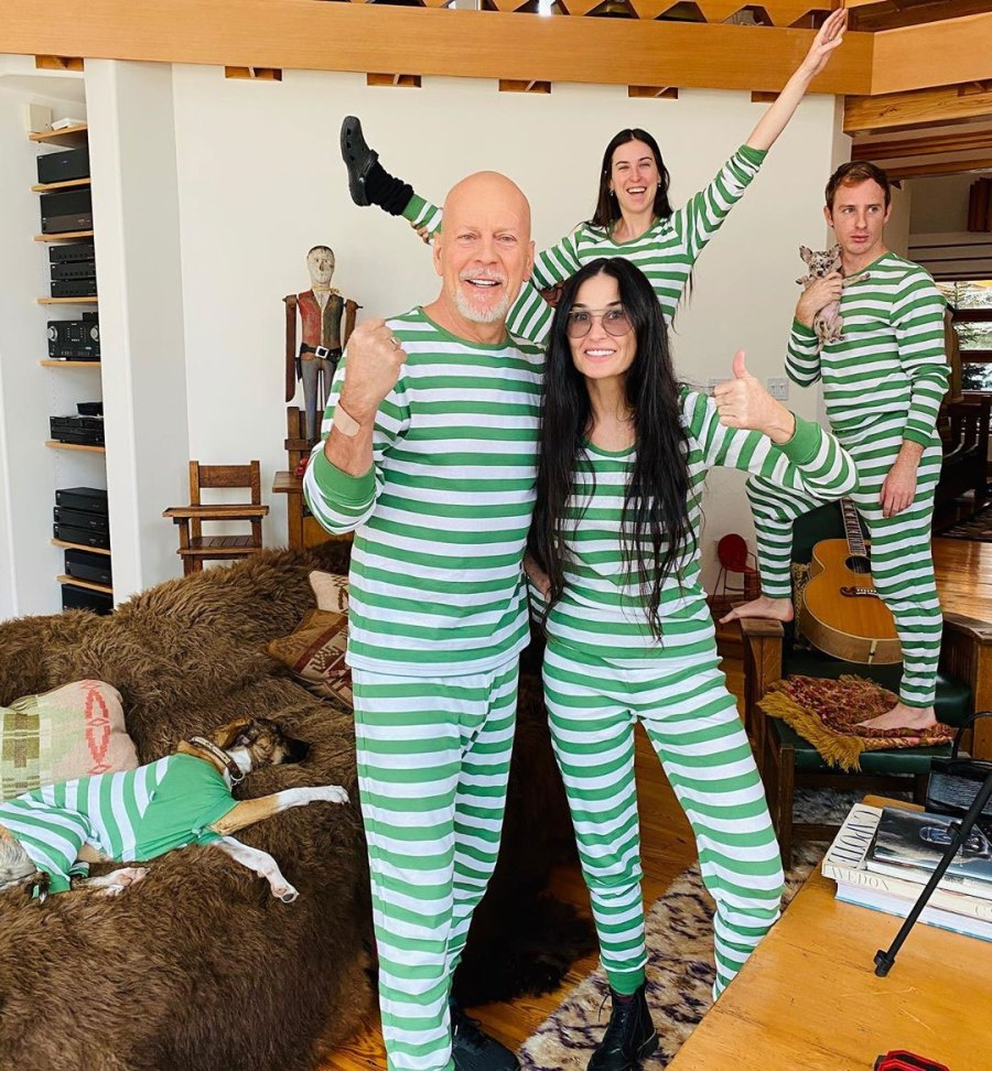 Two Peas in a Pod Tallulah Willis Instagram Demi Moore and Bruce Willis in Quarantine With Their Family