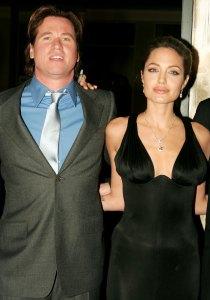 Val Kilmer Recalls How He Couldnt Wait to Kiss Costar Angelina Jolie