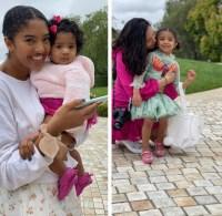 Vanessa Bryant kids Easter