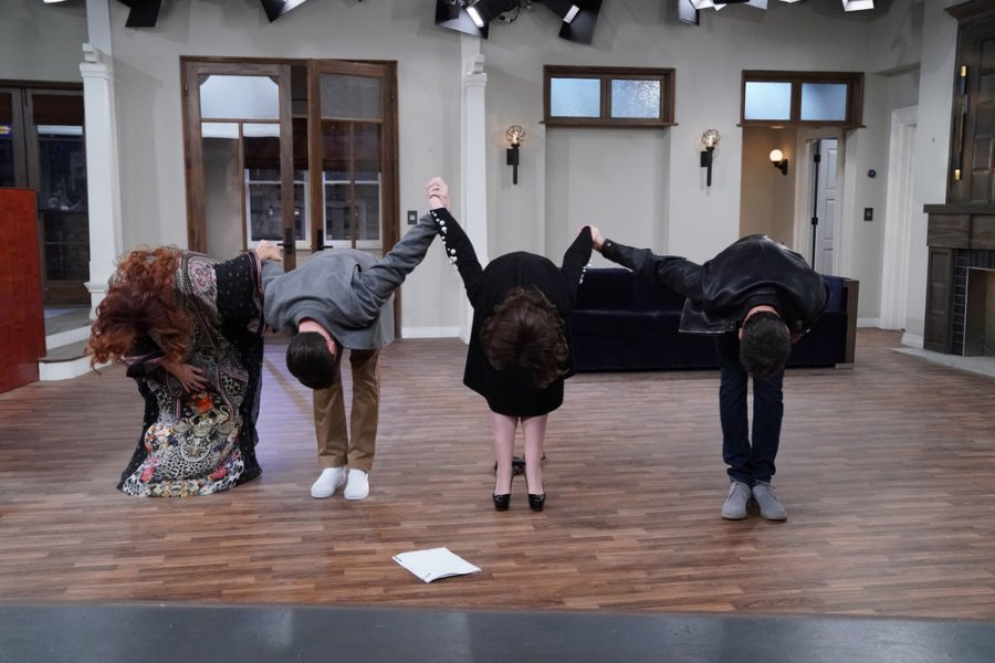 Will and Grace Finale Debra Messing Sean Hayes Megan Mullally Eric McCormack
