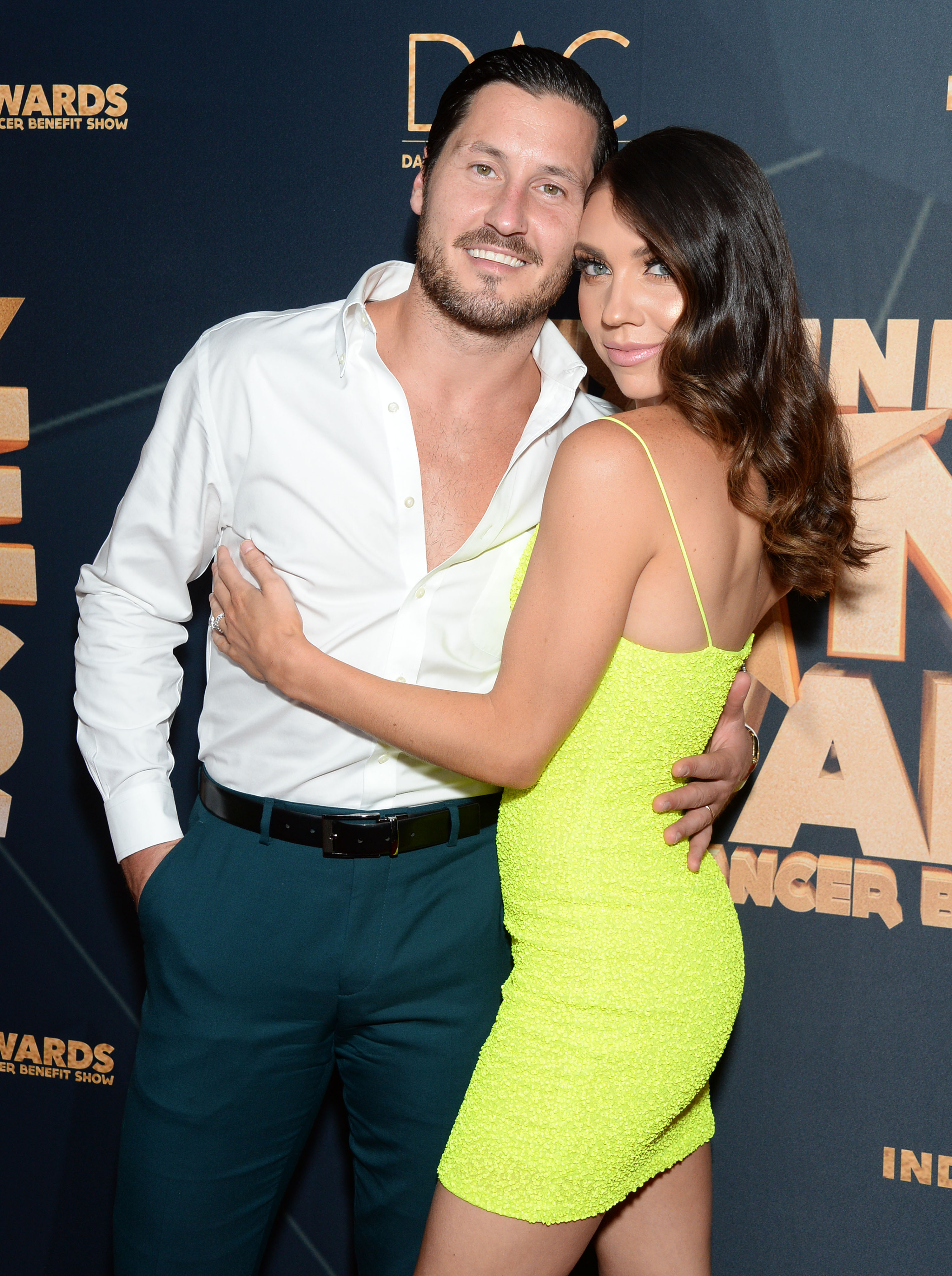Val Chmerkovskiy Pays Tribute to Wife Jenna Johnson on 1-Year Anniversary