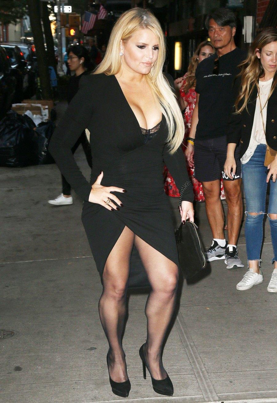 Jessica Simpson Toned Legs