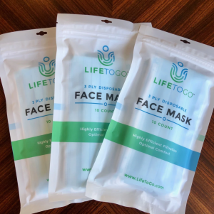 3-Ply Face Mask (10 Pack)
