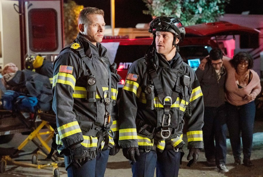 Oliver Stark and Ryan Guzman in 9-1-1 What to Watch This Week While Social Distancing