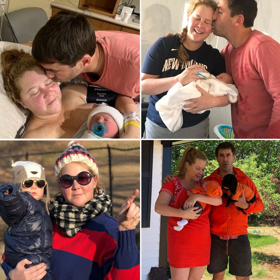 Amy Schumer Chris Fischer Sweetest Family Moments