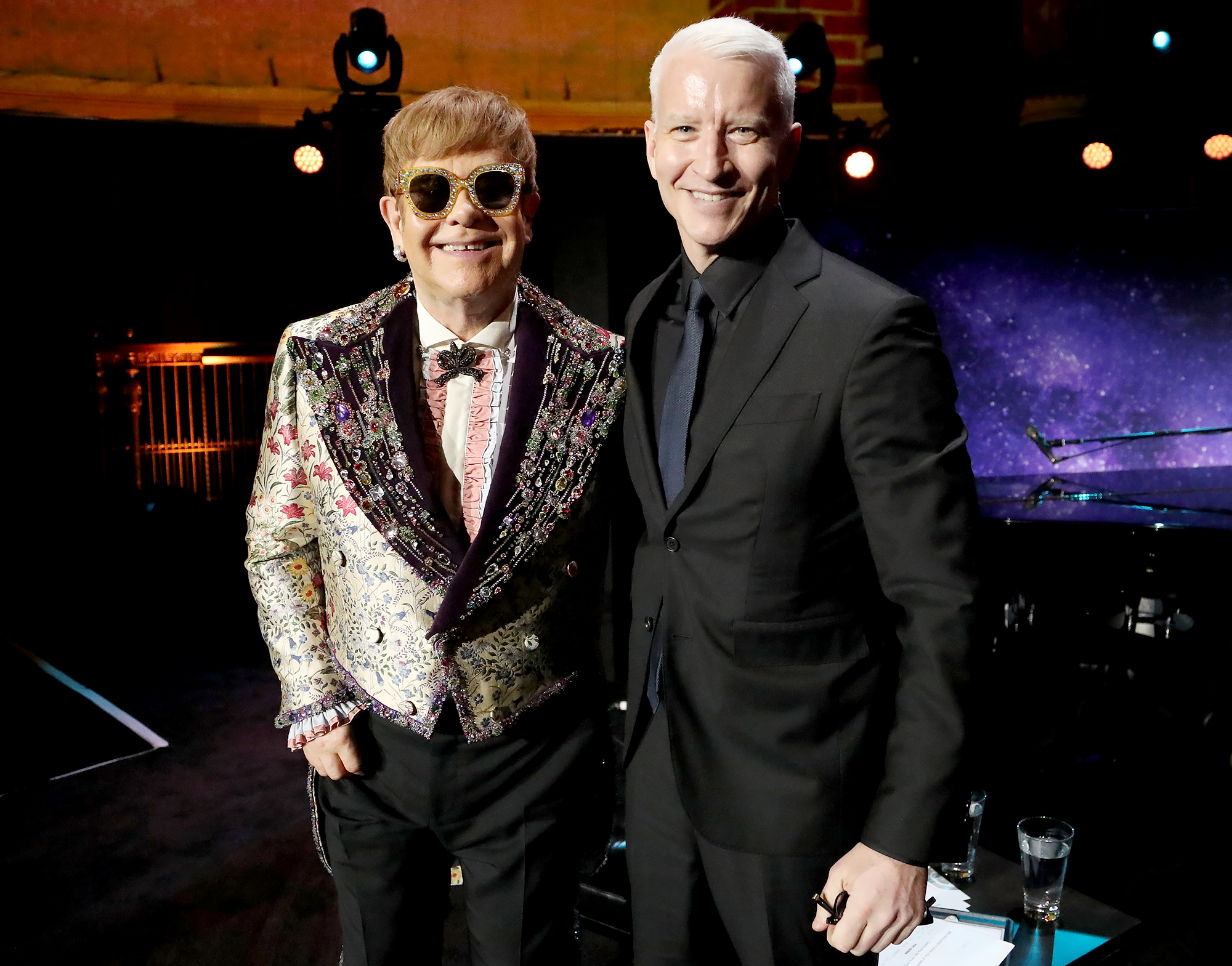 Anderson Cooper Reveals Elton John Reached Out to Him After His Sons Birth