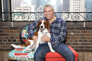 Andy Cohen Says He Rehomed His Rescue Dog Wacha Because of 'Aggression'