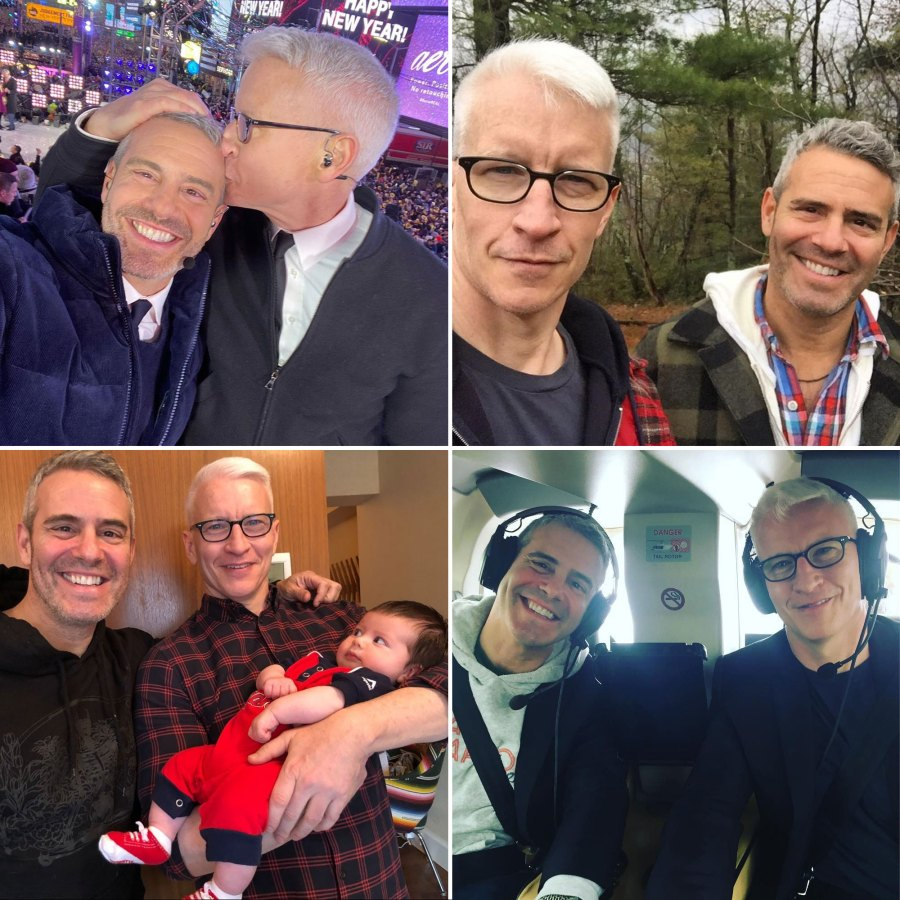 Andy Cohen and Anderson Cooper Sweetest BFF Moments