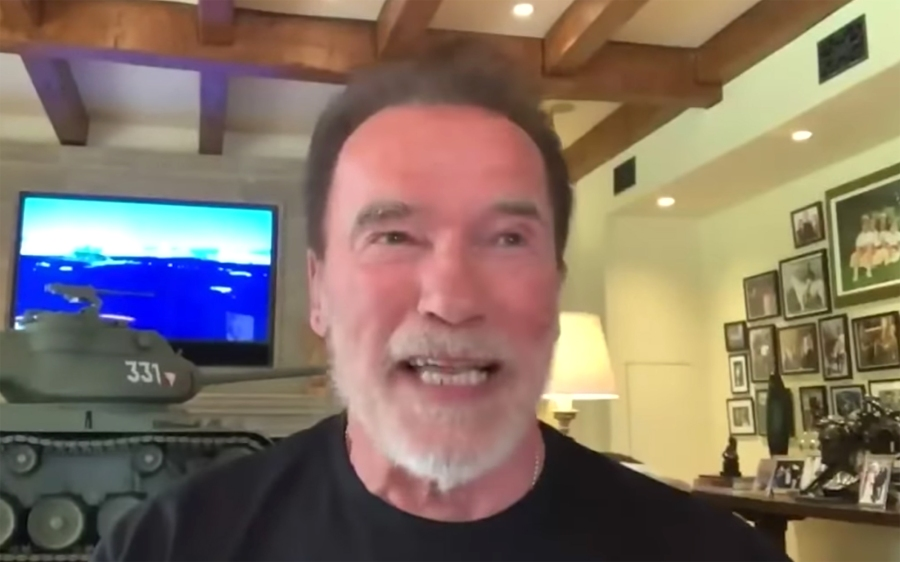 Arnold Schwarzenegger Gushes About Daughter Katherine Schwarzenegger The Tonight Show Starring Jimmy Fallon